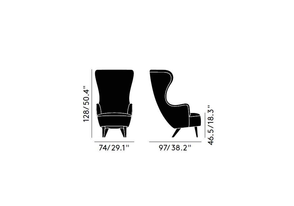Firma Casa-Tom Dixon-Poltrona-Wingback Chair-DT-SITE