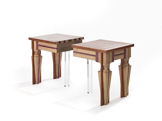 Set 2 mesinhas lateral Couple of just contrast side tables 2-1