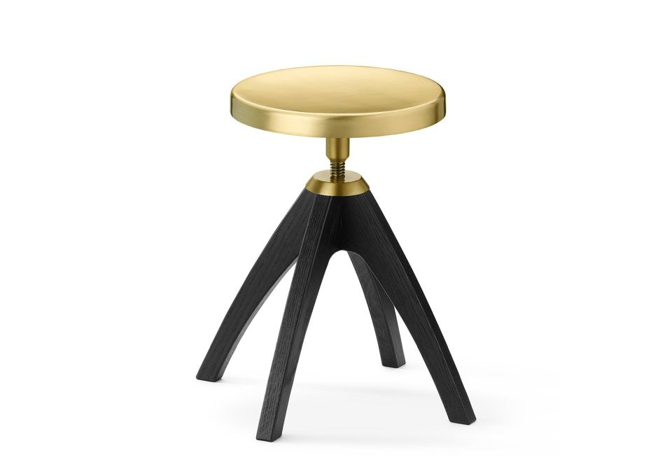 Firma Casa-Ghidini 1961-Leporello Juinior-Stool-Black-SITE